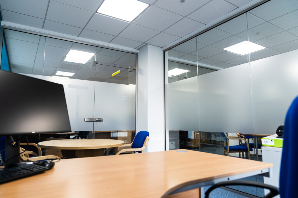 Glass Internal Partitions