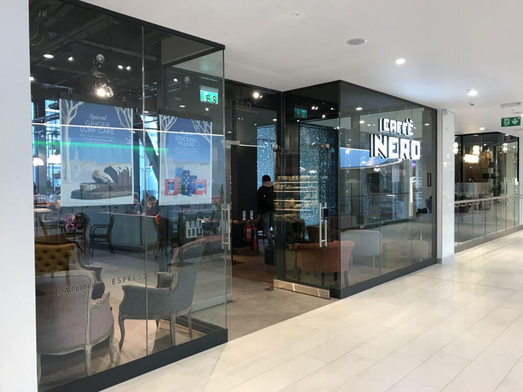 Glazed Shopfront Facades